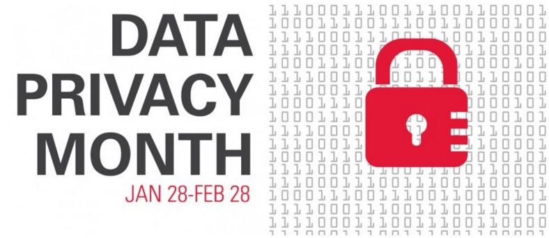 Data Privacy Month banner