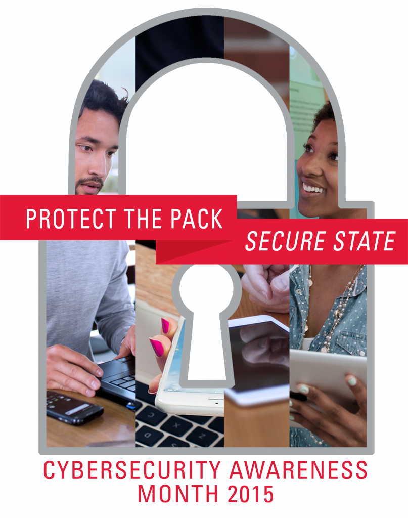 Cybersecurity Awareness Month 2015 logo