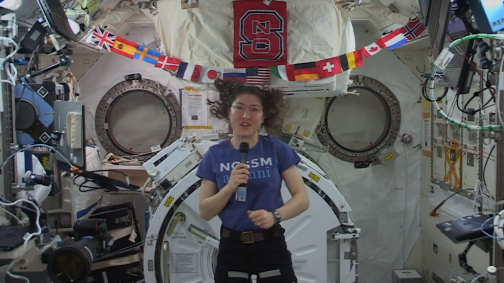 NASA astronaut and NC State alumna Christina Koch