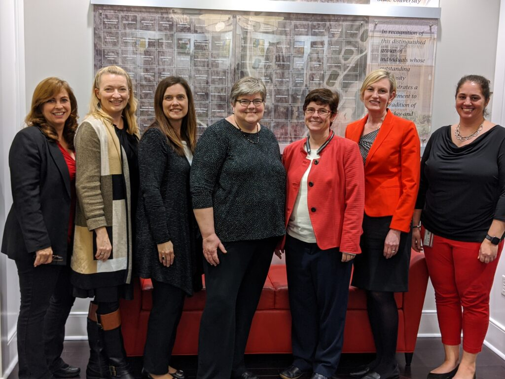 Work group that oversees the NC State's EHRA conversion process